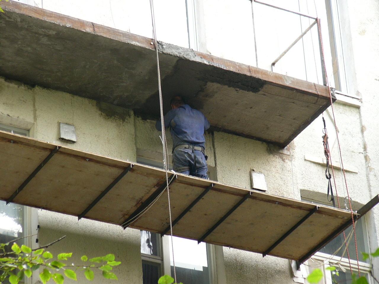 Балкон своими руками строить 41